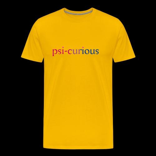 psicurious - Men's Premium T-Shirt