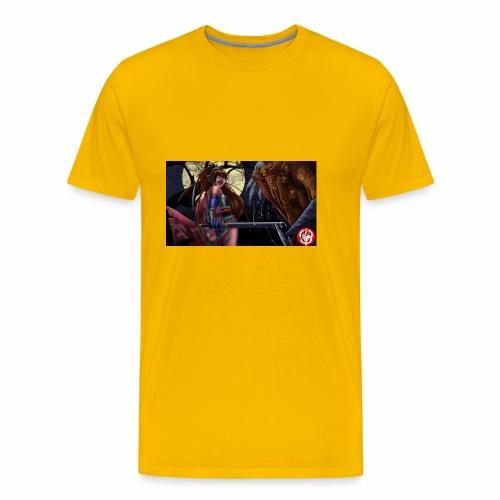 Anime Demon Hunter - Men's Premium T-Shirt