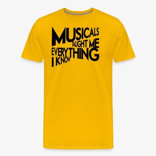 MTMEIK Black Logo - Men's Premium T-Shirt