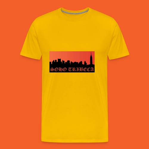 Soho Tribeca NYC Skyline - Men's Premium T-Shirt