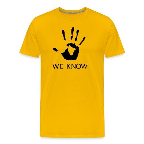 We Know Brotherhood - Men's Premium T-Shirt