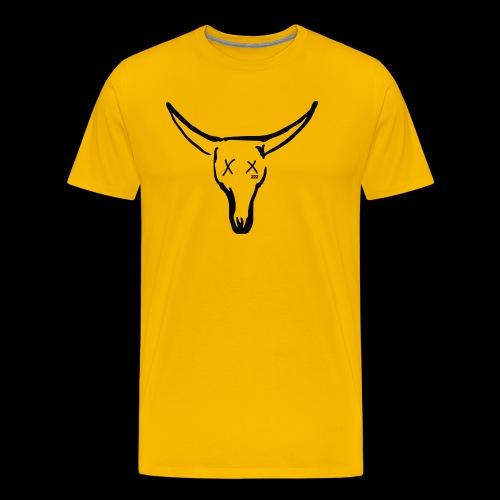 BASE Dead Bull 222 TAT - Men's Premium T-Shirt