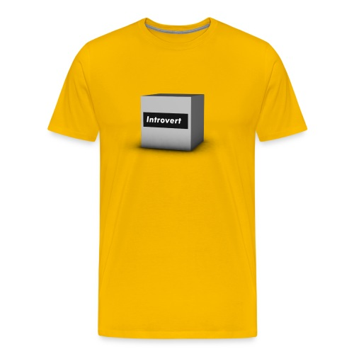 Box Logo - Men's Premium T-Shirt