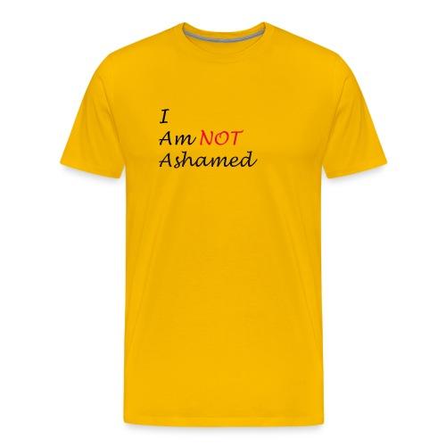 Not Ashamed - Men's Premium T-Shirt