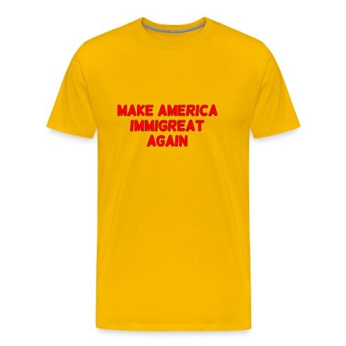 ImmiGREAT - Red - Men's Premium T-Shirt