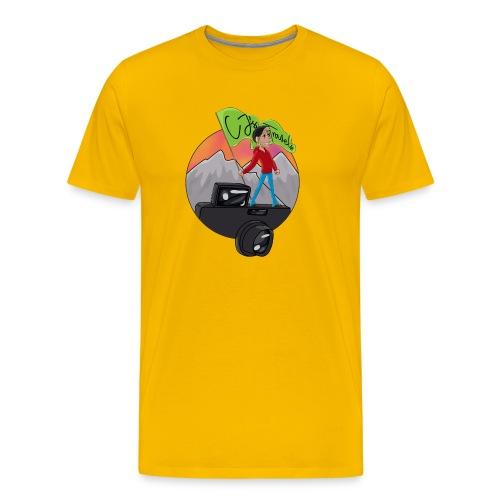 Cartoon CJ - Men's Premium T-Shirt