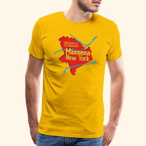 Massena NY Red - Men's Premium T-Shirt