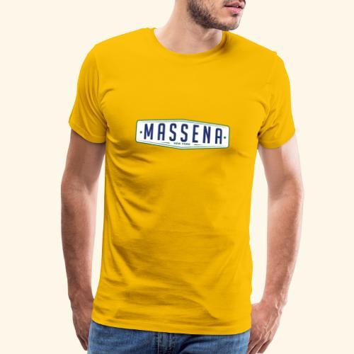 Massena Plate - Men's Premium T-Shirt
