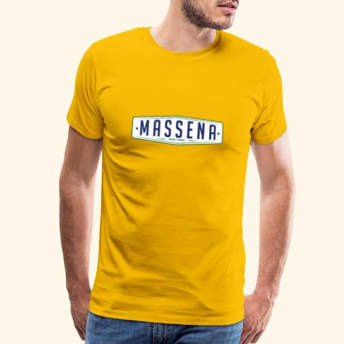 Massena Plate - Men's Premium T-Shirt