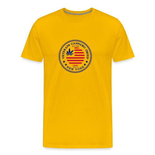 VCG Logo Post 2 NY - Men's Premium T-Shirt