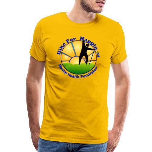 Hike Tops & Buttons - Men's Premium T-Shirt