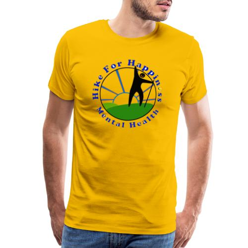 Hike For Happiness (Mental Health) - Men's Premium T-Shirt