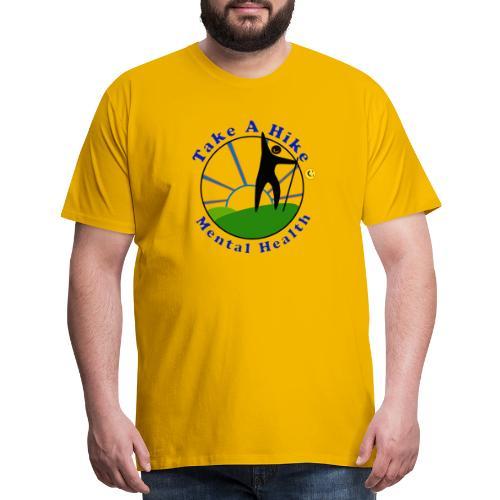 Take A Hike For Mental Health - Men's Premium T-Shirt