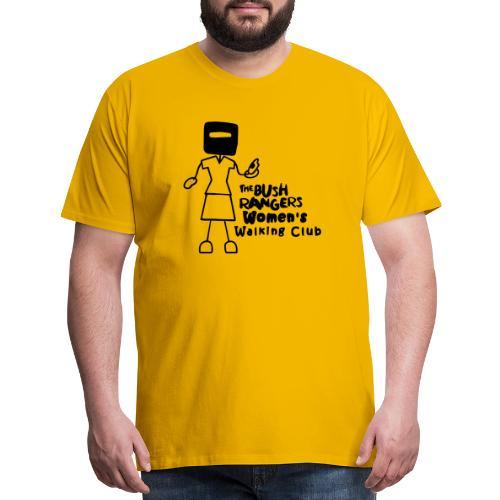 BWWC Logo - Men's Premium T-Shirt