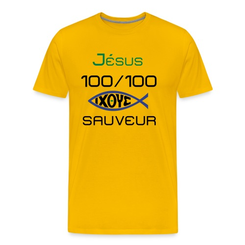 jesus100 - Men's Premium T-Shirt