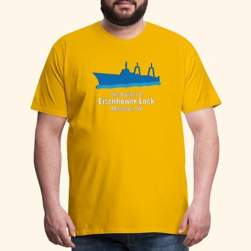 Eisenhower Lock Blue - Men's Premium T-Shirt