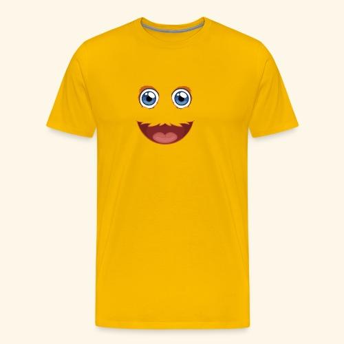 Fuzzy Puppet Face - Men's Premium T-Shirt