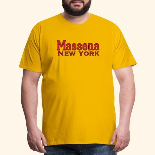 Massena New York - Men's Premium T-Shirt