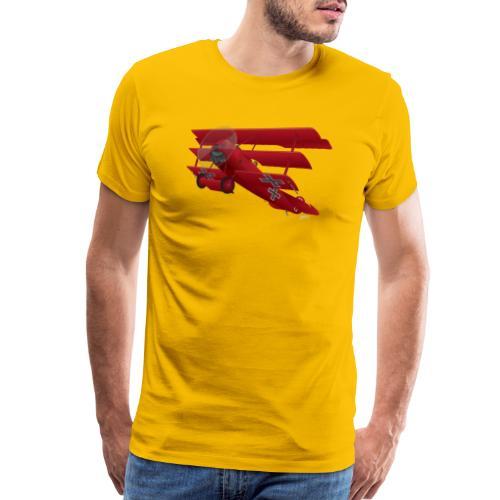 DR-1 Red Baron Triplane WWI Warbird - Men's Premium T-Shirt