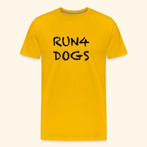RUN4DOGS NAME - Men's Premium T-Shirt