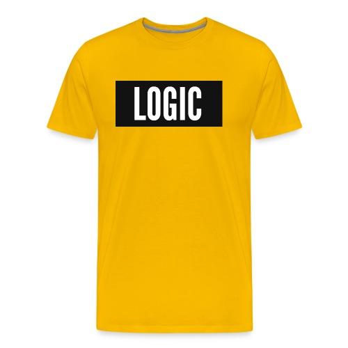Logic Bold Logo - Men's Premium T-Shirt