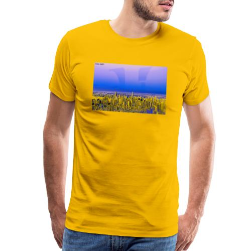 ALL I EVER WANTED WAS THE WORLD - Men's Premium T-Shirt