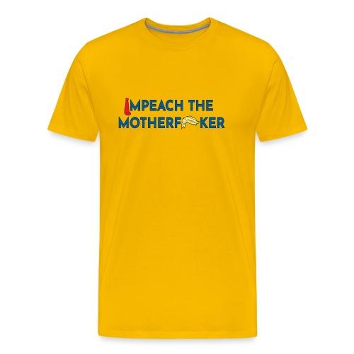 Anti Trump Impeach - Men's Premium T-Shirt