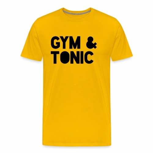 Gym & Tonic - Men's Premium T-Shirt