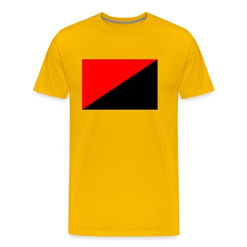 red and black - Men's Premium T-Shirt