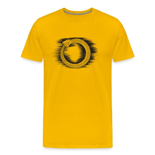 Ouroboros Revolutionary Symbol by KPC Studios - Men's Premium T-Shirt