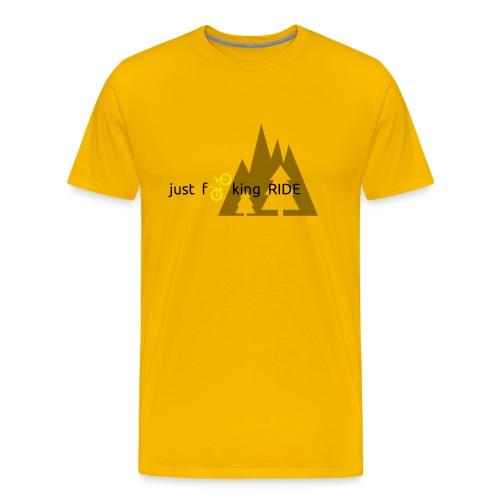 Mountain Biking JFR - Men's Premium T-Shirt