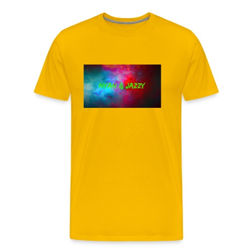 NYAH AND JAZZY - Men's Premium T-Shirt