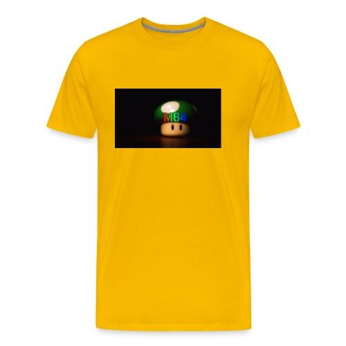 mushroom design - Men's Premium T-Shirt