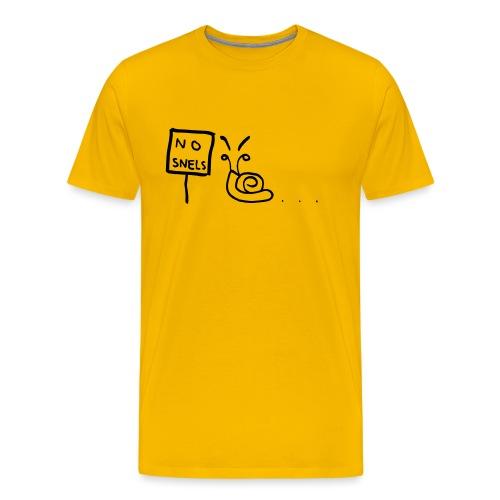 No Snels Original - Men's Premium T-Shirt