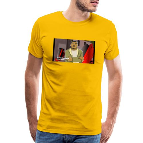 The Truck Hudson Show (Animated Sketches ) - Men's Premium T-Shirt