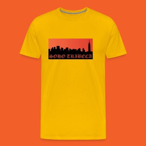 Soho Tribeca NYC Skyline - Men's Premium T-Shirt