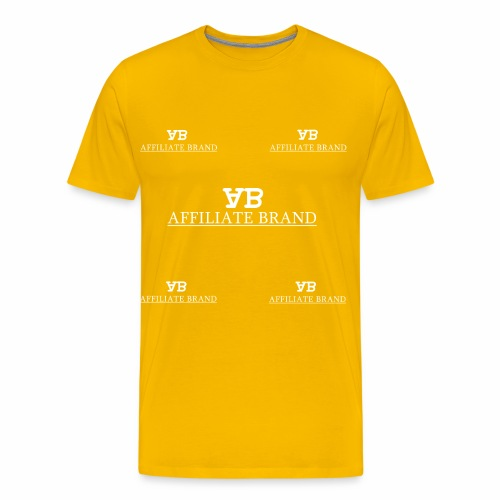 Logo 5th Degree - Men's Premium T-Shirt