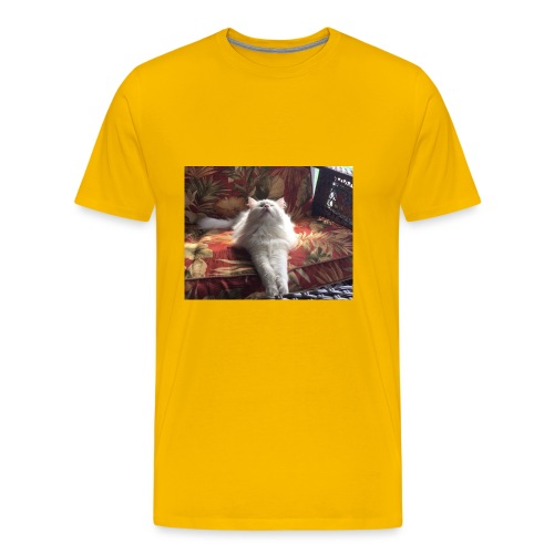 minion cat - Men's Premium T-Shirt