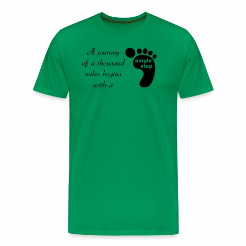 Single Step - Men's Premium T-Shirt