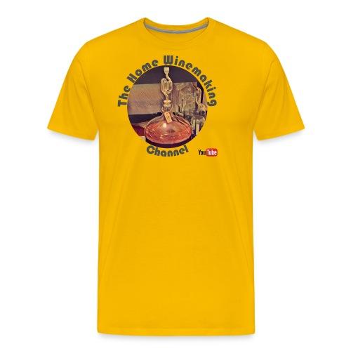 Carboy Grey Words - Men's Premium T-Shirt