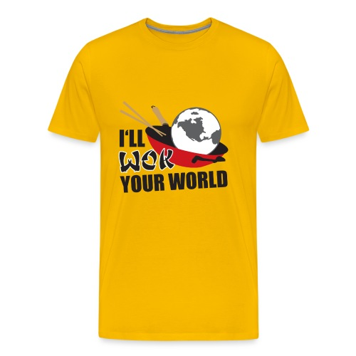 I'll Wok Your World - Men's Premium T-Shirt