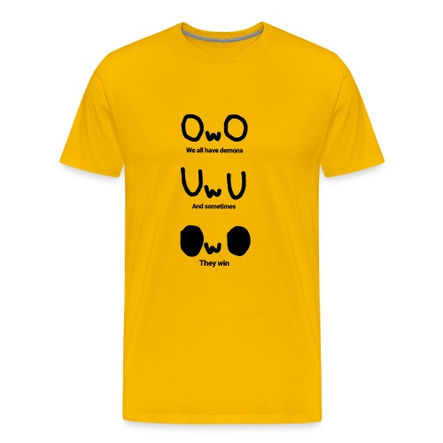 We All Have Demons - Men's Premium T-Shirt