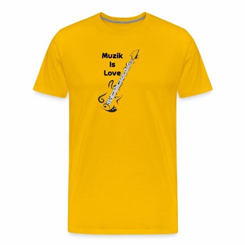 Man T-Shirt - Men's Premium T-Shirt