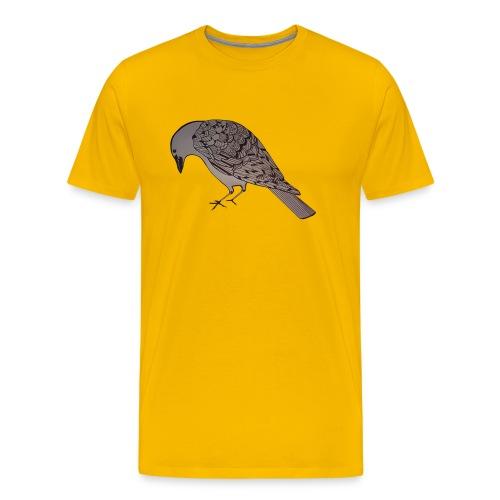 art deco raven - Men's Premium T-Shirt