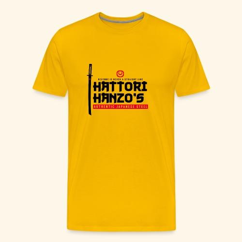 hattori hanzo japan - Men's Premium T-Shirt