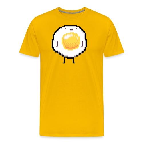 Sunny Side Up Standing Up Egg Funny - Men's Premium T-Shirt