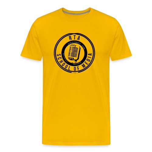 RTA School of Media Classic Look - Men's Premium T-Shirt