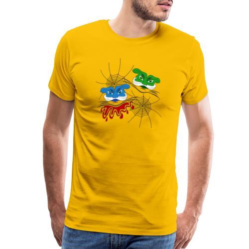 alien robot masks - Men's Premium T-Shirt