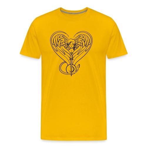 Sphinx valentine - Men's Premium T-Shirt