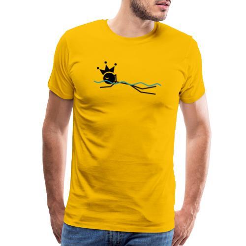 Winky Swimming King - Men's Premium T-Shirt